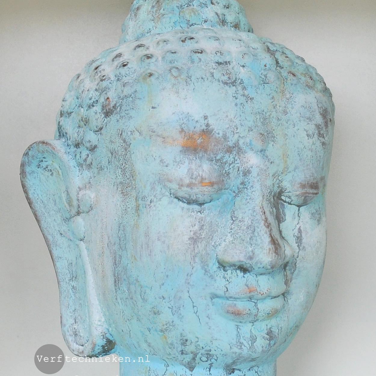 Boeddha verdigris