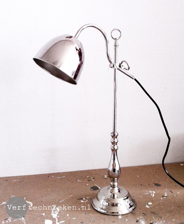 Welp DIY Vintage lamp maken | Verftechnieken IK-79