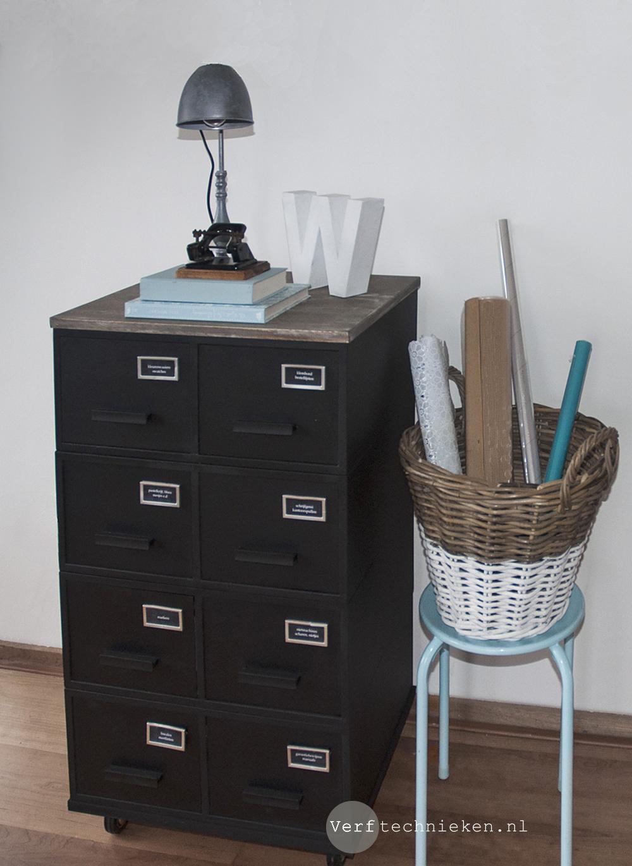 DIY archiefkastje pimpen