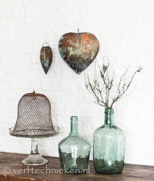 DIY koperen harten