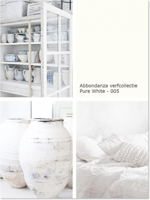 Abbondanza Pure White krijtverf