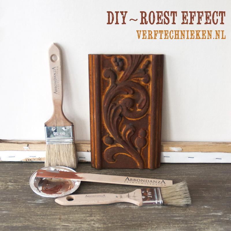 DIY Roest Effect verftechnieken.nl