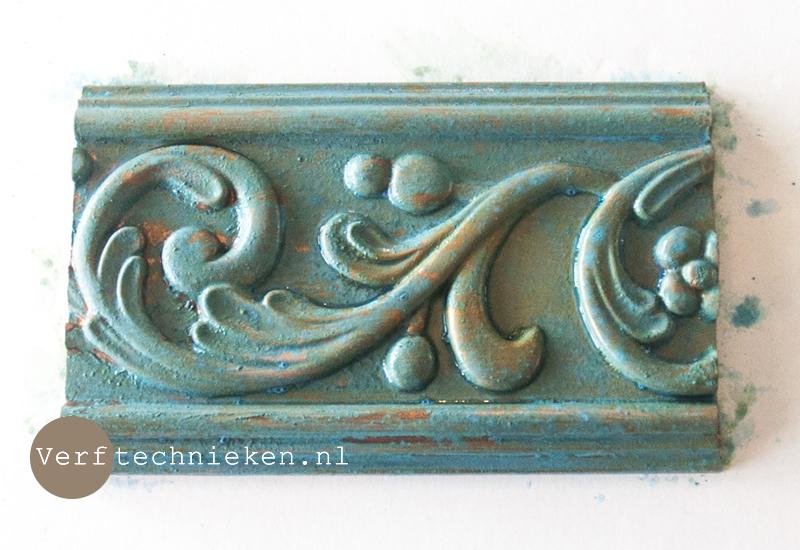 DIY patina effect - verftechnieken.nl