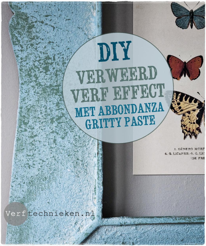 Verweerd effect met Abbondanza Gritty Paste