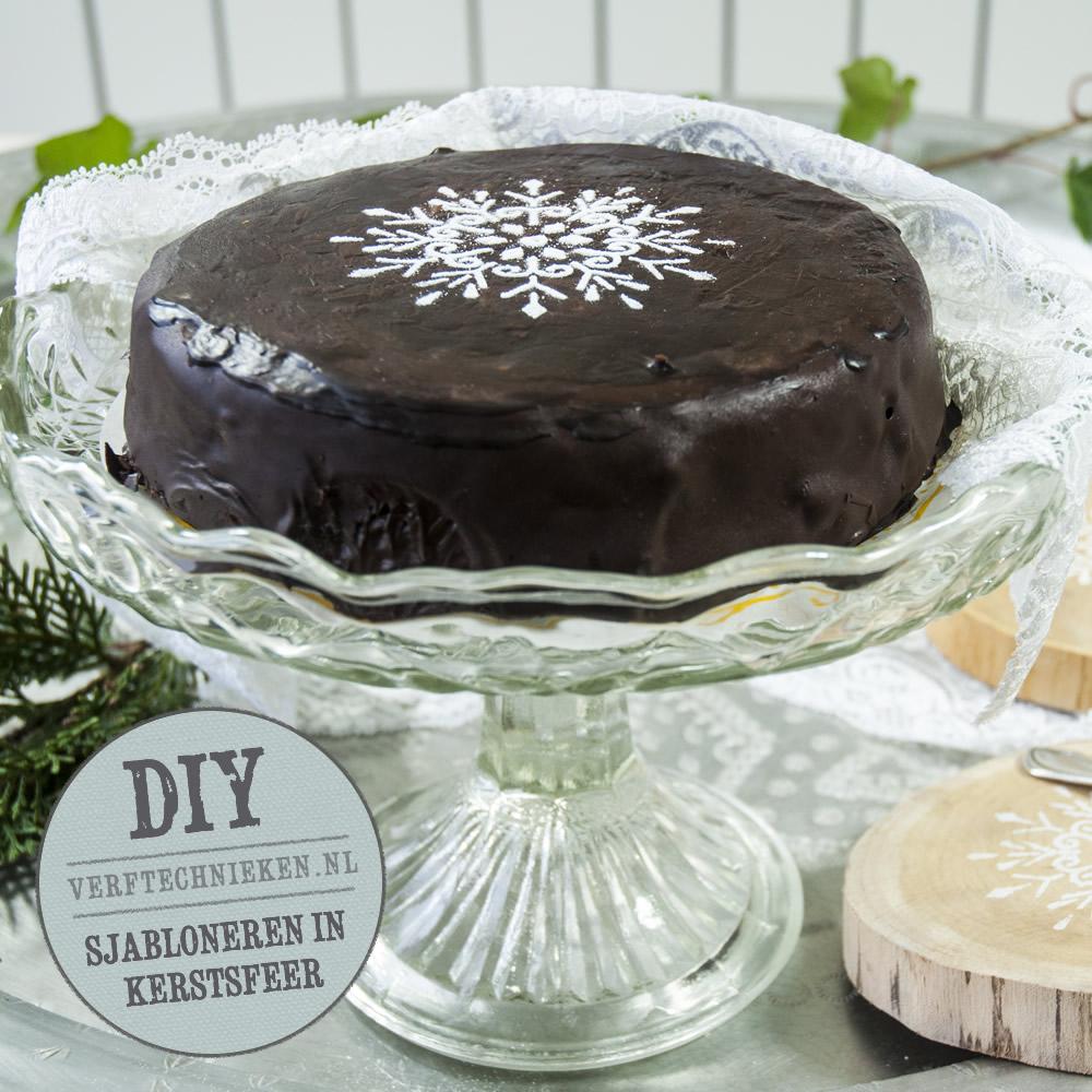 DIY taart sjabloneren