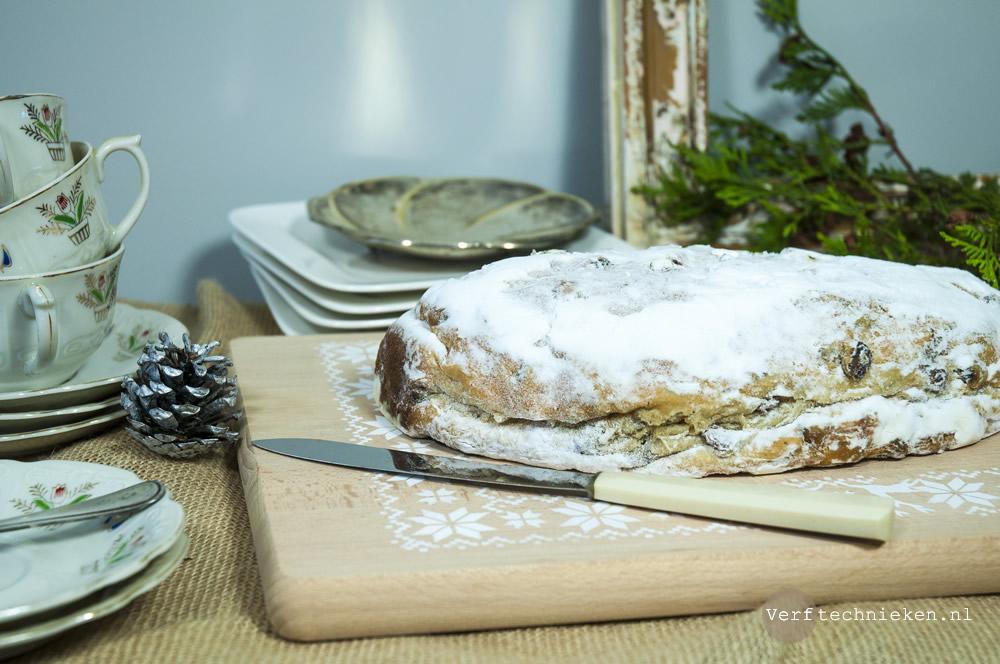DIY Kerst broodplank sjabloneren