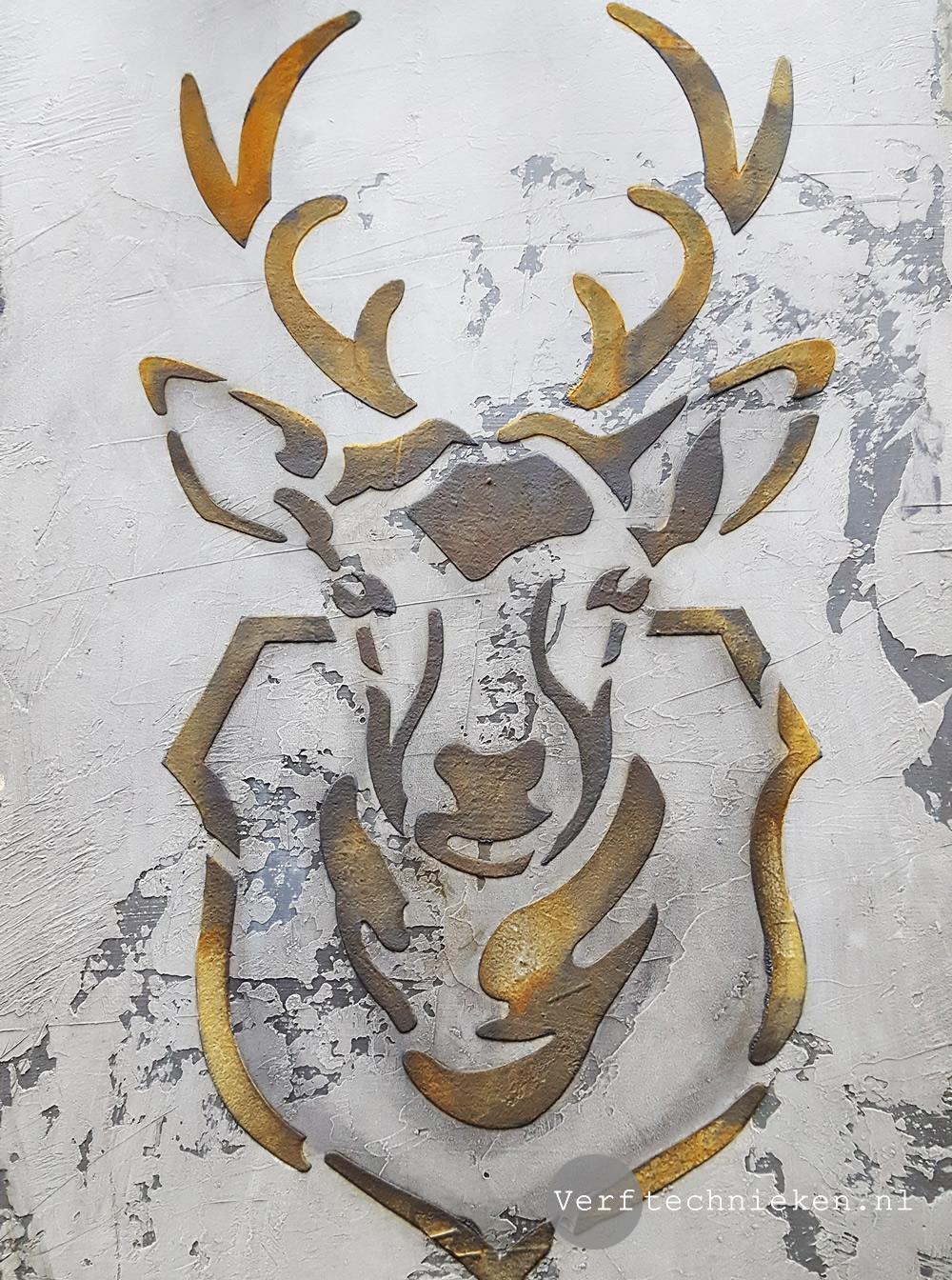 Wandbord-Hert