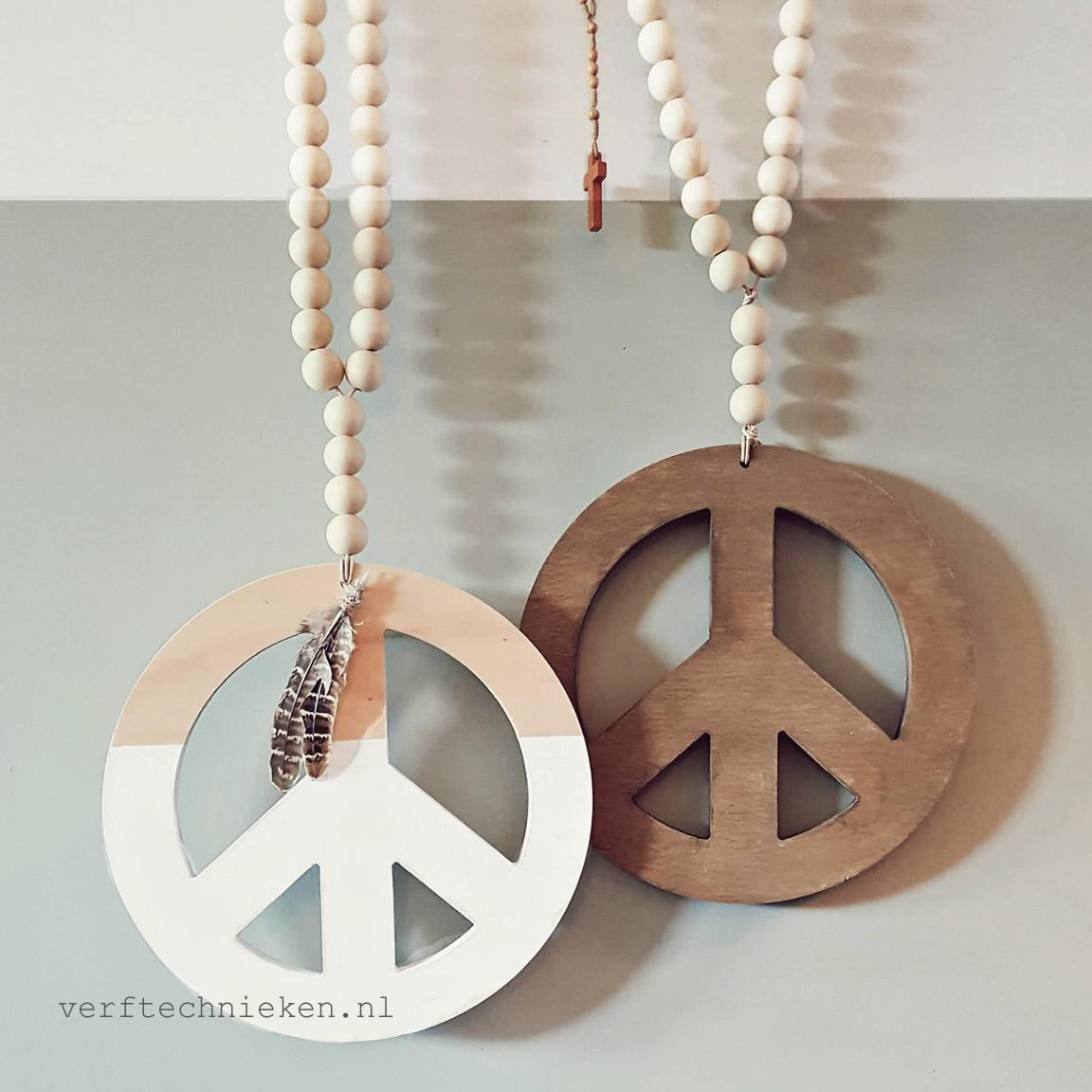 DIY-Pakket Woonketting Peace-verftechnieken.nl